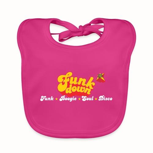 FunkDown Official Merchandise (med genrer) - Hagesmække af økologisk bomuld