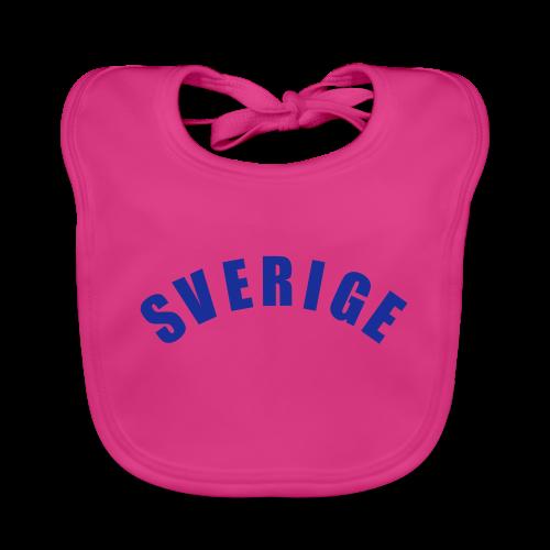T-shirt, Sverige - Ekologisk babyhaklapp
