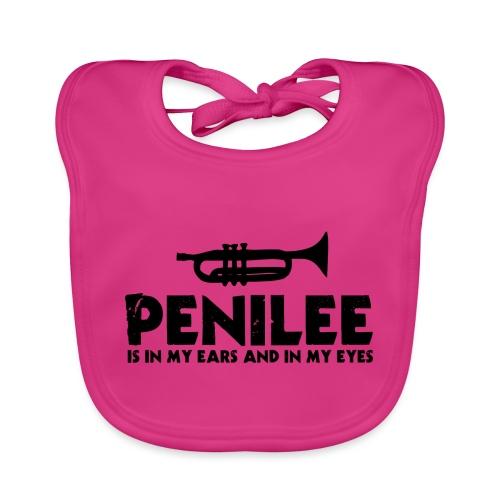 Penilee is in my Ears - Organic Baby Bibs