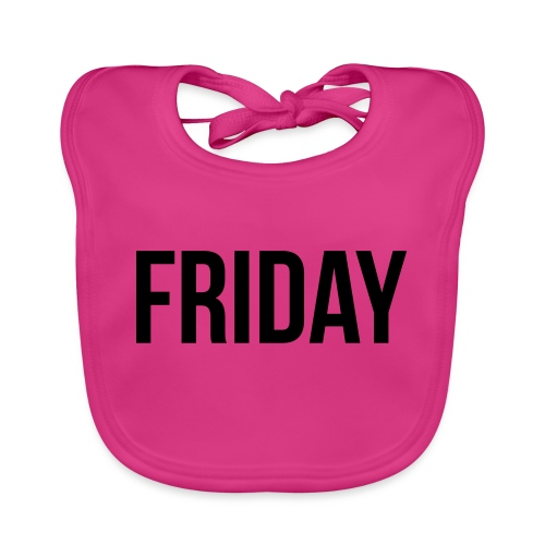 Friday - Baby Organic Bib