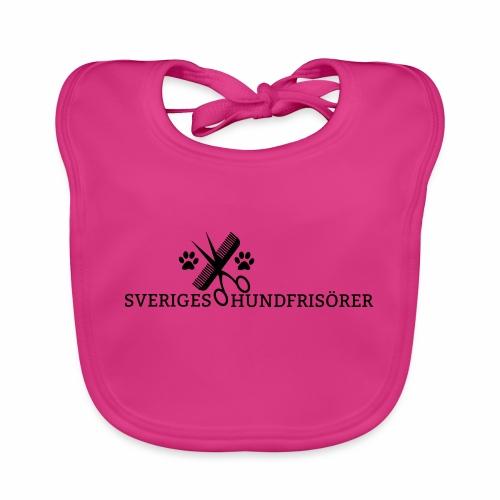 SVHFs rektangulära logo - Ekologisk babyhaklapp