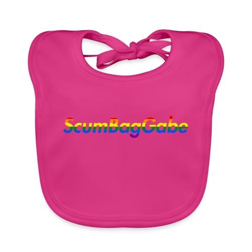 ScumBagGabe Multi Logo XL - Organic Baby Bibs