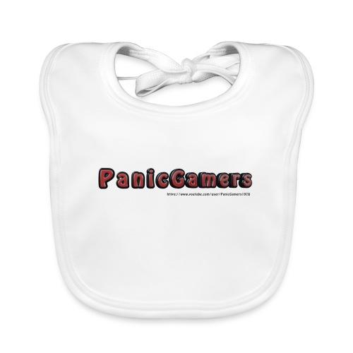 Canotta PanicGamers - Bavaglino ecologico per neonato