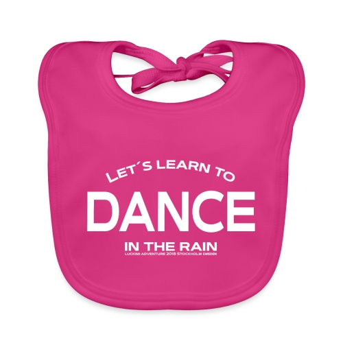 Lets learn to dance - kids - Baby Organic Bib