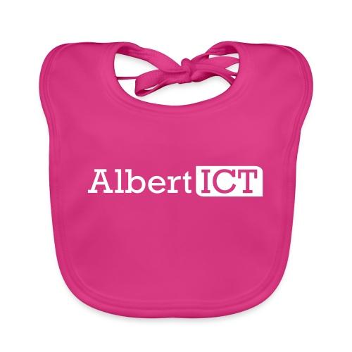 AlbertICT wit logo - Bio-slabbetje voor baby's