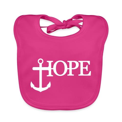 Hope Anker Anchor Hoffnung - Baby Bio-Lätzchen