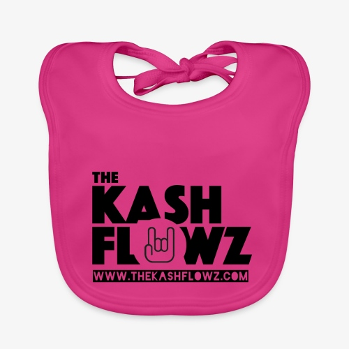 The Kash Flowz Official Web Site Black - Bavoir bio Bébé