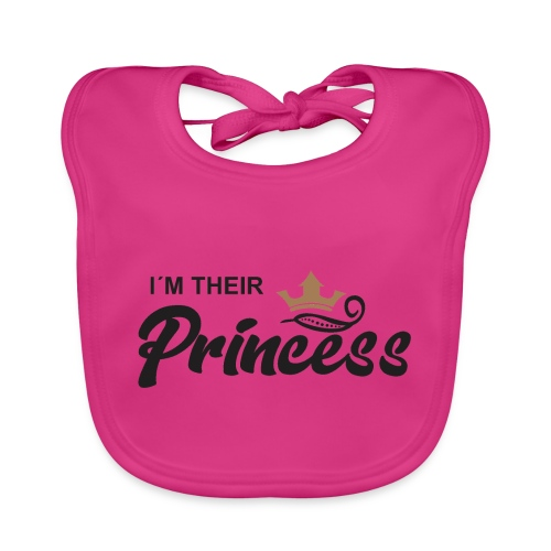 im their princess - Babero ecológico bebé