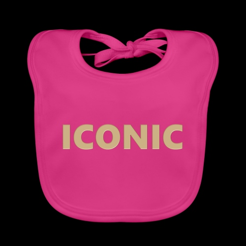 ICONIC [Cyber Glam Collection] - Organic Baby Bibs