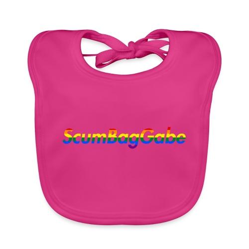 ScumBagGabe Multi Logo XL - Baby Organic Bib