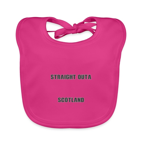 Straight Outa Scotland! Limited Edition! - Organic Baby Bibs