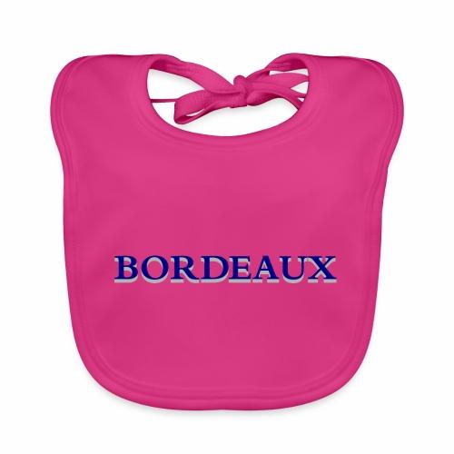 Bordeaux bleu - Baby Organic Bib