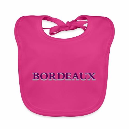 Bordeaux violet - Baby Organic Bib