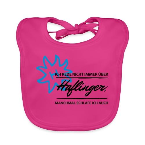 T-Shirt Spruch Haflinger - Baby Bio-Lätzchen
