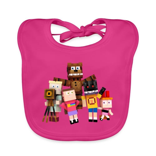 Withered Bonnie Productions - Meet The Gang - Organic Baby Bibs