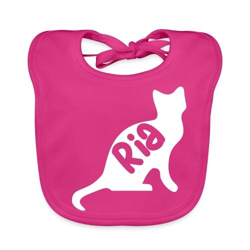 Team Ria Cat - Baby Organic Bib