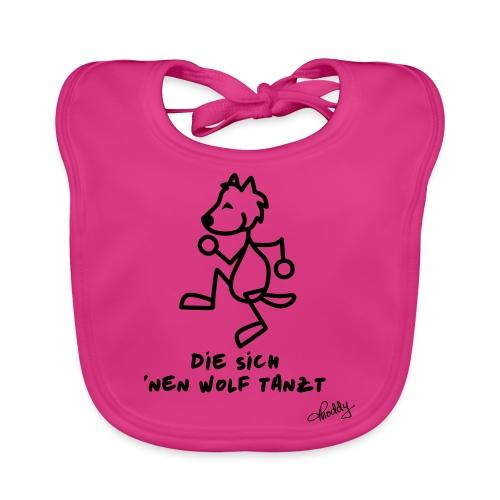 Die sich nen Wolf tanzt - Baby Bio-Lätzchen