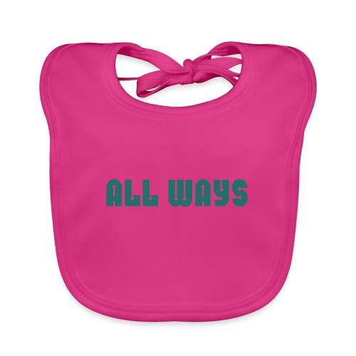 All Ways - Baby Organic Bib