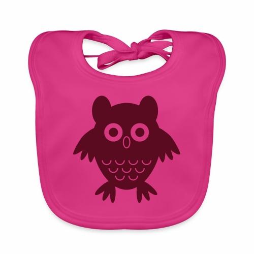 My friend the owl - Baby Organic Bib