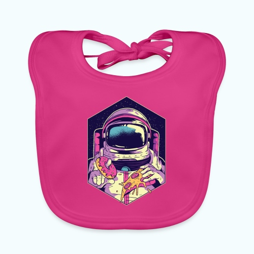 Fast food astronaut - Baby Organic Bib