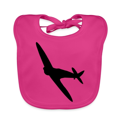 Spitfire Silhouette - Organic Baby Bibs