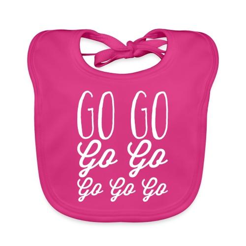 Go Go Go Go Go Go Go - Organic Baby Bibs