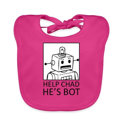 ChadBot - Bavoir bio Bébé