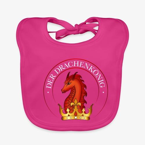 Der Drachenkönig Logo - Baby Bio-Lätzchen