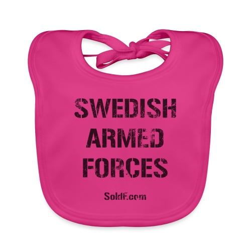 Swedish Armed Forces - Ekologisk babyhaklapp