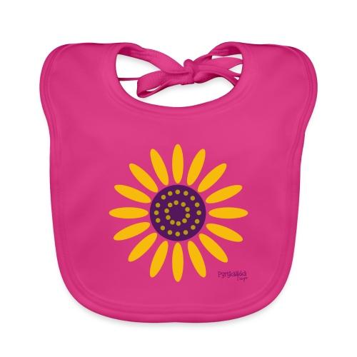 sunflower - Vauvan luomuruokalappu
