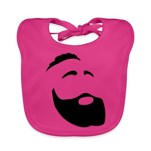 Il Barba, the Beard black - Bavaglino ecologico per neonato