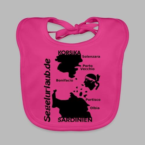 Korsika Sardinien Mori Shirt - Baby Bio-Lätzchen