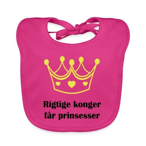 konger - Baby økologisk hagesmæk