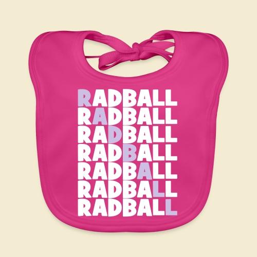 Radball | Diagonal - Baby Bio-Lätzchen