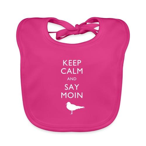 KEEP CALM AND SAY MOIN - Baby Bio-Lätzchen