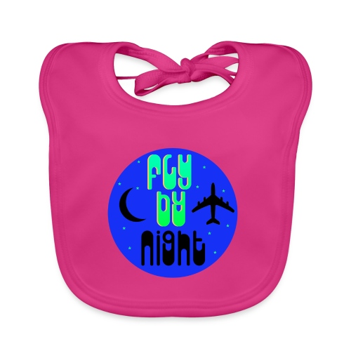 Fly By Night - Baby Organic Bib