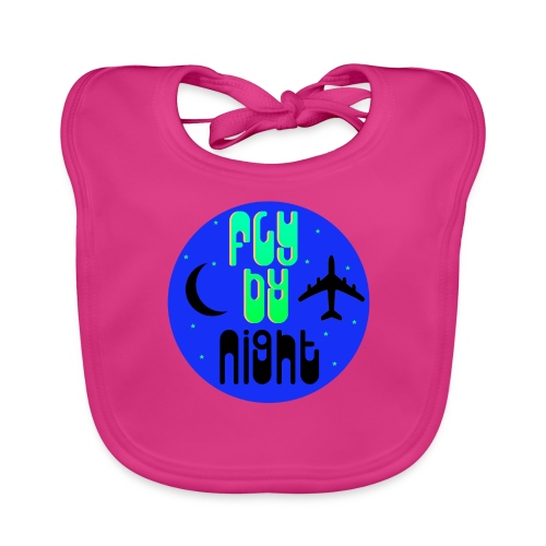 Fly By Night - Baby Organic Bib