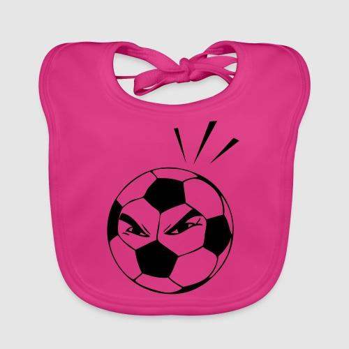 energischer Fußball - Baby Bio-Lätzchen