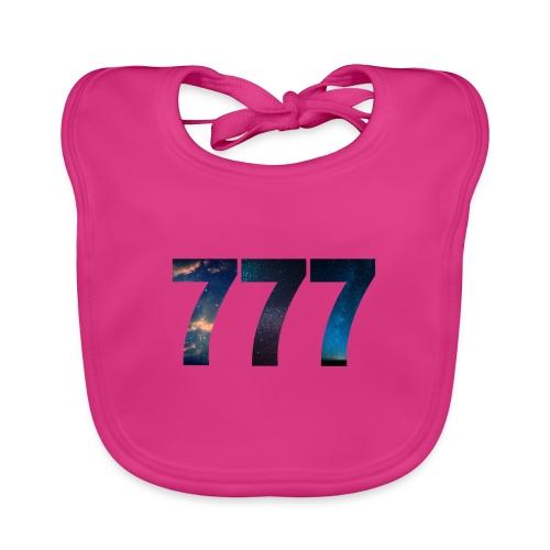 777 un nombre qui apporte chance et spiritualité - Bavoir bio Bébé
