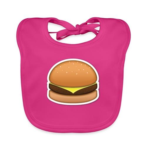 hamburger_emoji - Bio-slabbetje voor baby's
