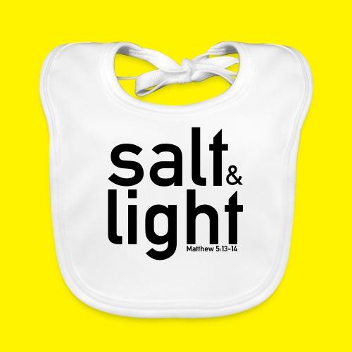 Salt & Light - Matthew 5: 13-14 - Organic Baby Bibs