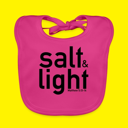 Salt & Light - Matthew 5: 13-14 - Organic Baby Bibs