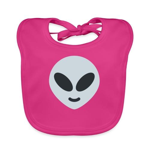 Alien Gray - Babero ecológico bebé