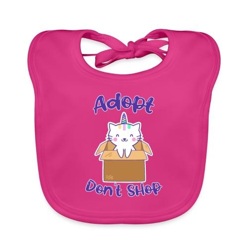 Adopt dont shop Tierheim Kinder Katzen Kitten - Baby Bio-Lätzchen