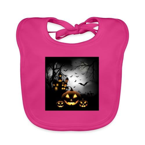Halloween - Vauvan luomuruokalappu