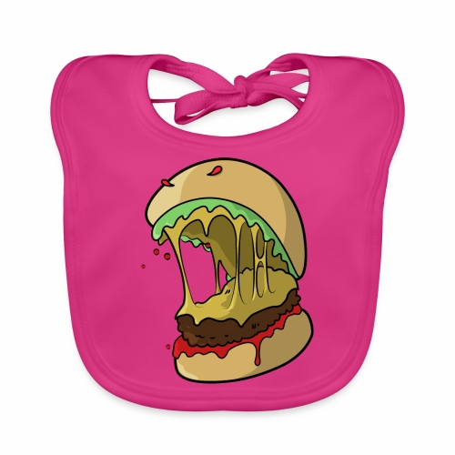 Frankenburger - Baby Organic Bib