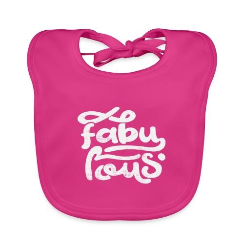 Fabulous - Ekologisk babyhaklapp