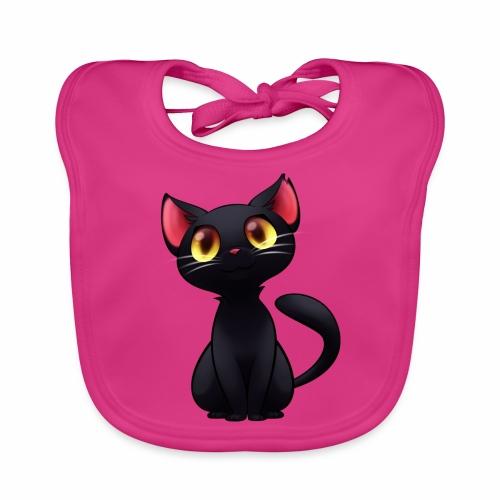 Black Cat - gatto nero - Bavaglino