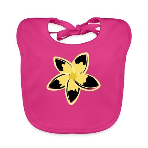 Blusas, Accesorios y mas, Flor Amarillo y negro - Babero ecológico bebé