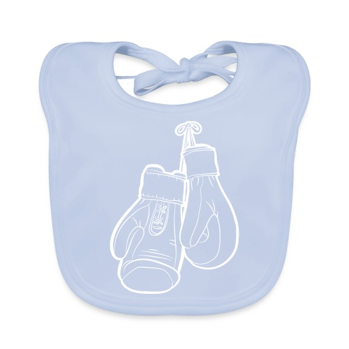 Handschuhe weiß - Baby Bio-Lätzchen